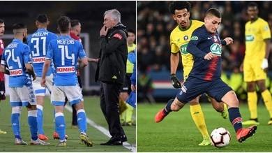 Tiki taka in Europa: domina il PSG, Napoli in Top 10