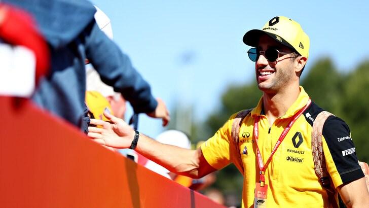 Ricciardo: «A Montecarlo voglio il massimo»