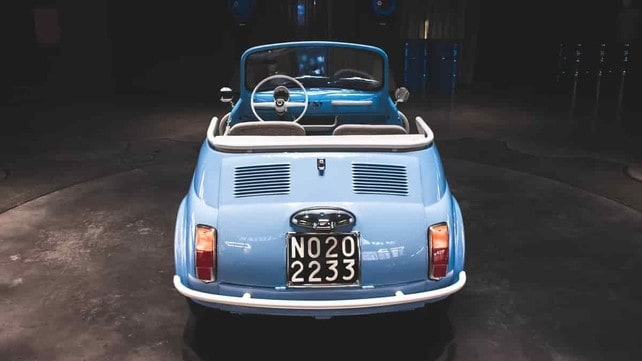 Fiat 500 Jolly Icon-e Garage Italia: tutte le foto