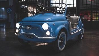 Fiat 500 Jolly Icon-e, l'ultimo progetto di Garage Italia