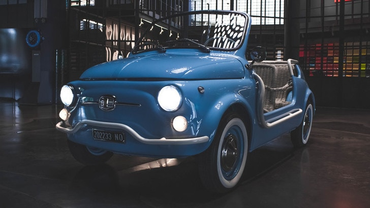 Fiat 500 Jolly Icon-e, l'ultimo progetto di Garage Italia