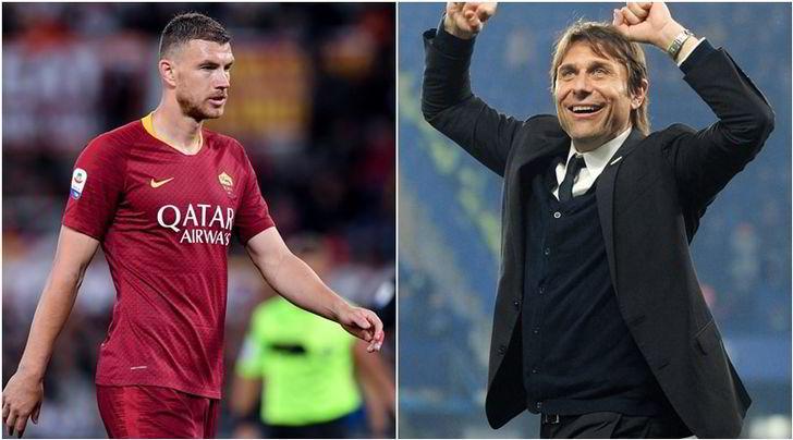 L'Inter di Conte: Dzeko arriva pure senza Champions