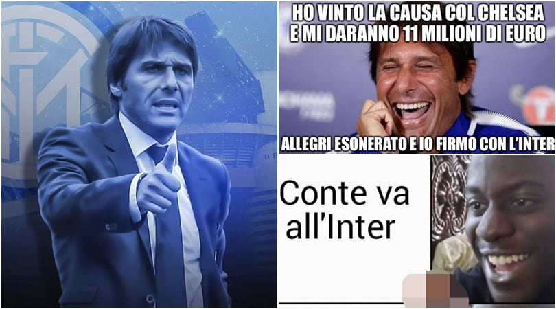 Inter-Conte, tifosi sui social impazziti