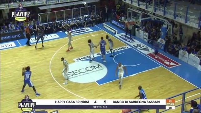 Happy Casa Brindisi - Banco di Sardegna Sassari 87-92