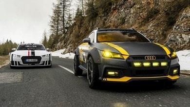 Audi TT Safari,  cattiva per i social