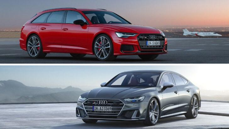 Audi S6 Avant e S7 Sportback, il test drive