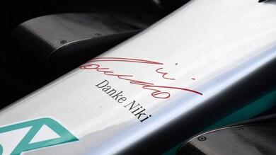 La F1 ricorda Lauda con le livree speciali FOTO