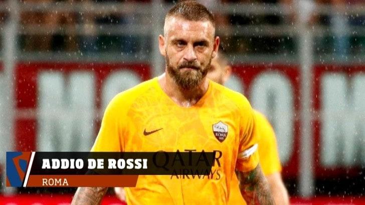 Roma, Addio De Rossi, lacrime e rabbia