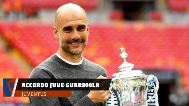 Juventus, accordo Juve-Guardiola