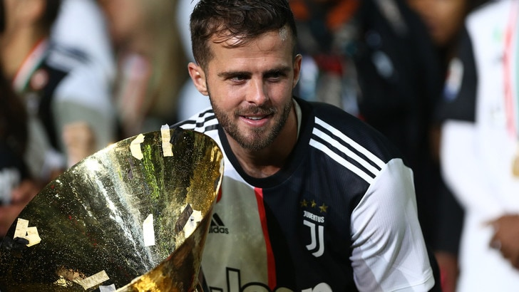 Juventus, Pjanic: «Vincenti grazie ad Allegri»