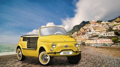 Garage Italia e Hertz insieme per il noleggio della Fiat 500 Jolly Icon-e