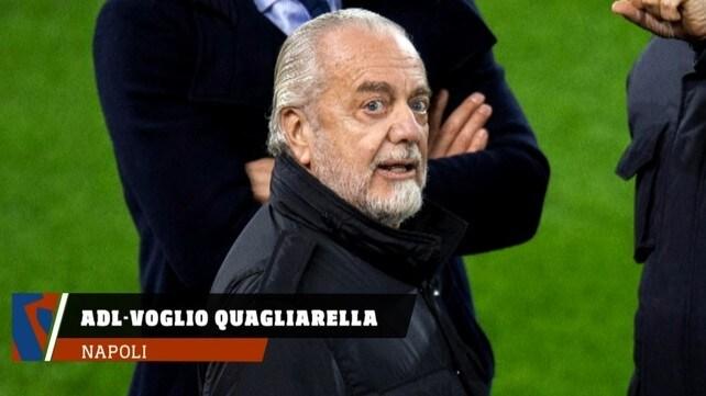 Napoli, Adl vuole Quagliarella