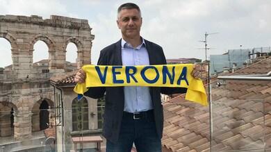 Verona presenta il tecnico Stoytchev: « c'è stata subito intesa »