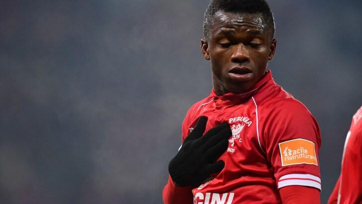 Kouan ha rinnovato il contratto con il Perugia fino al 2022