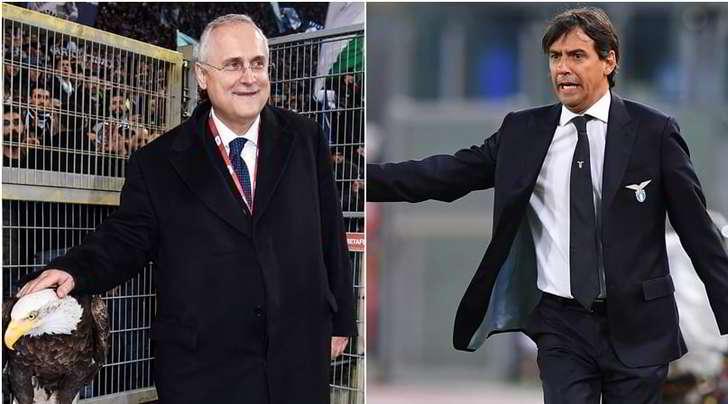 """Lotito su Inzaghi: """"Va alla Juve? Vedremo..."""""""