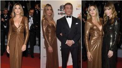 Sistine Stallone da incanto: splende sul red carpet a Cannes