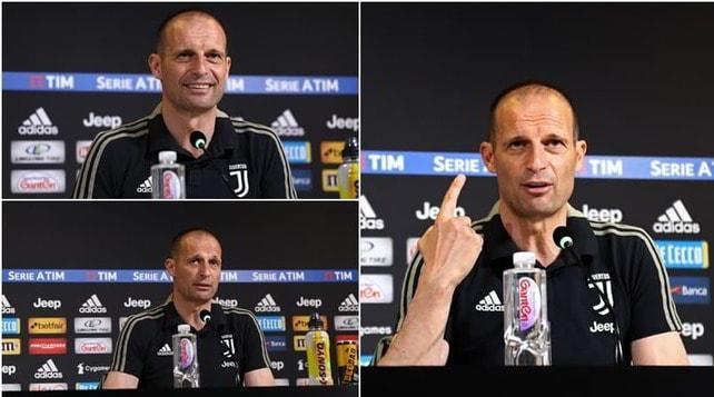 Allegri saluta la Juve con un nuovo look