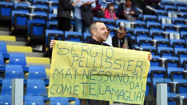 Sergio Pellissier chiude la carriera al Benito Stirpe