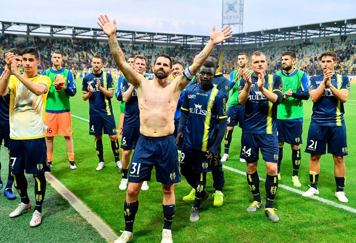 Frosinone-Chievo 0-0: la festa è per il saluto di Pellissier