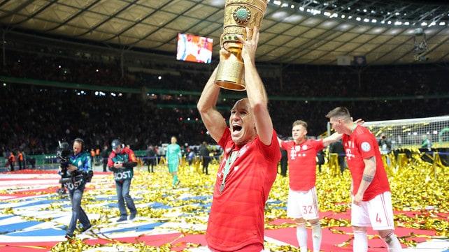 Festa Bayern in Coppa di Germania: salutano Robben e Ribery