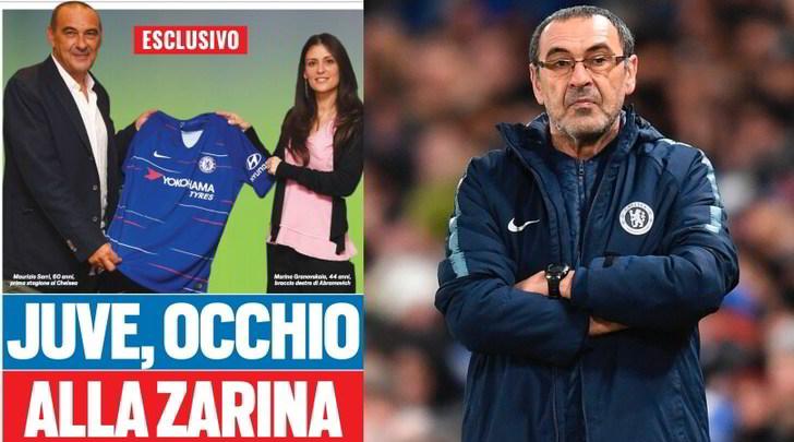 Nuovo allenatore Juve: Sarri, allarme zarina