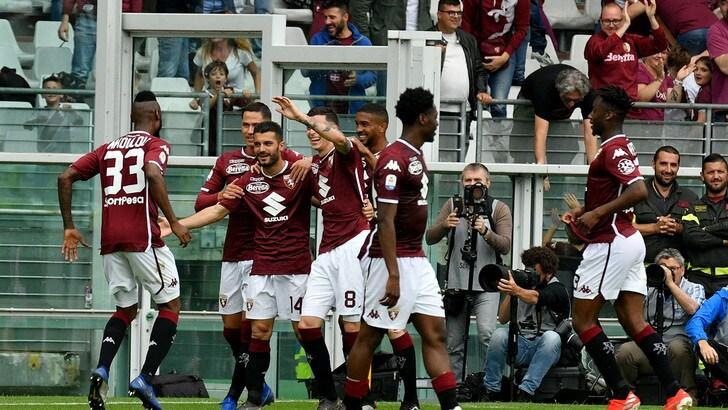 Serie A Torino-Lazio 3-1, il tabellino