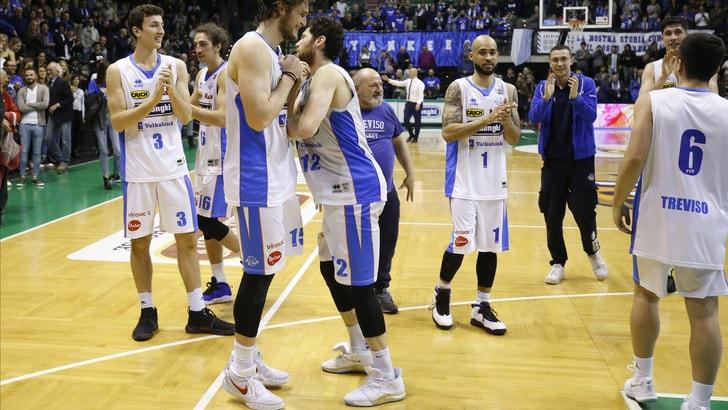 Treviso travolge Treviglio: al PalaVerde finisce 75-56