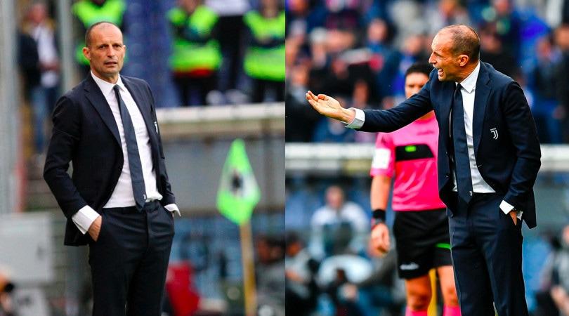 L'ultima di Allegri sulla panchina della Juve: ko contro la Sampdoria