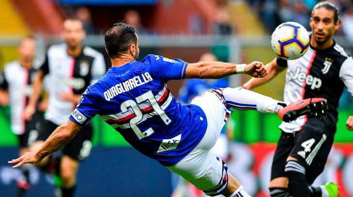 Sampdoria-Juve 2-0: Defrel-Caprari show, Allegri chiude a 90 punti