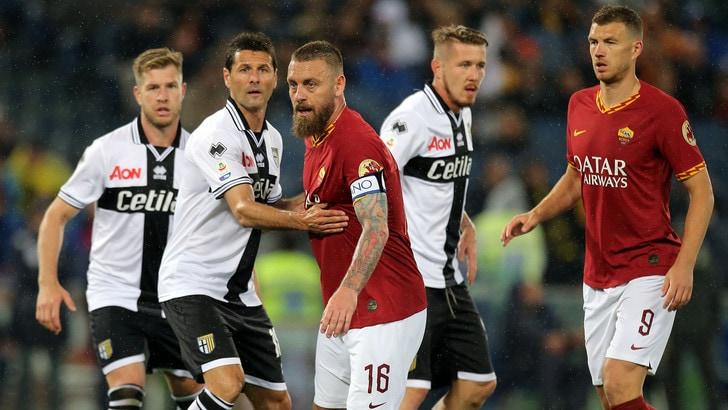 Serie A Roma-Parma 2-1, il tabellino