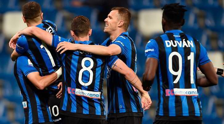 Atalanta-Giana Erminio 11-1, Zapata fa tripletta. Problemi per Malinovskyi
