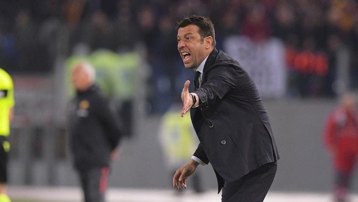 Parma, D'Aversa dopo il ko con la Roma: