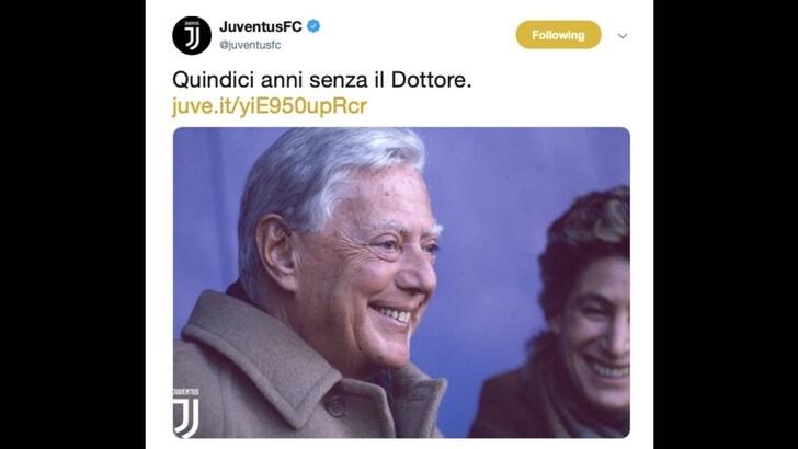 La Juventus ricorda Umberto Agnelli: