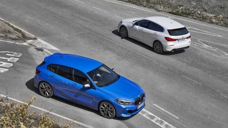 Nuova Serie 1 BMW, sportiva a trazione anteriore