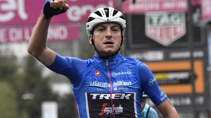 Giro, Ciccone vola sul Mortirolo. Nibali stacca Roglic