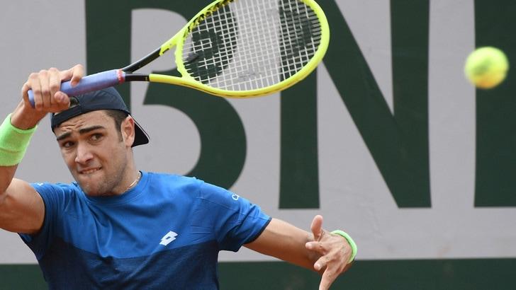 Roland Garros, Berrettini saluta al secondo turno