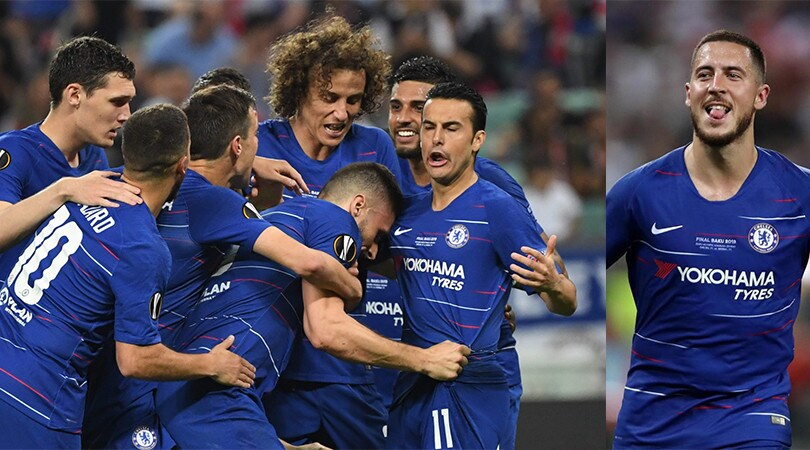 Chelsea show a Baku: Arsenal annichilito. Hazard da urlo!