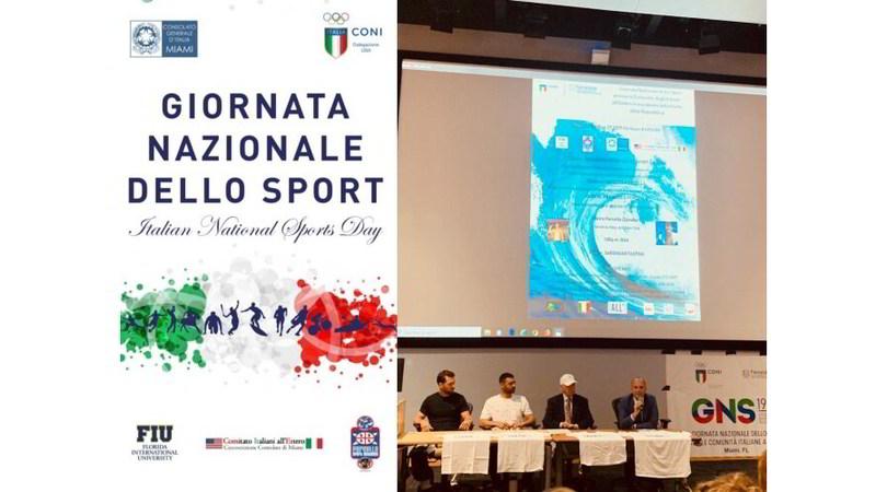 I fratelli Porcella testimonial dello sport italiano a Miami