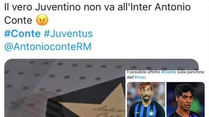 Conte all'Inter: ecco la reazione dei tifosi sui social