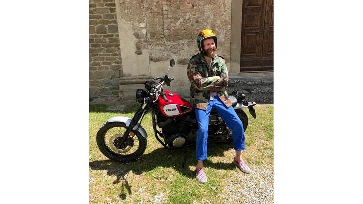 Jovanotti passione moto: ecco la sua Yamaha SCR950
