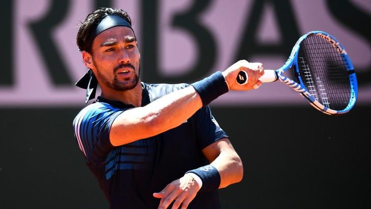Fognini si prende gli ottavi del Roland Garros: Bautista Agut ko