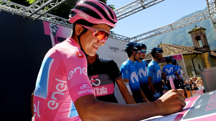 Carapaz ipoteca il Giro d'Italia. Tappa a Bilbao