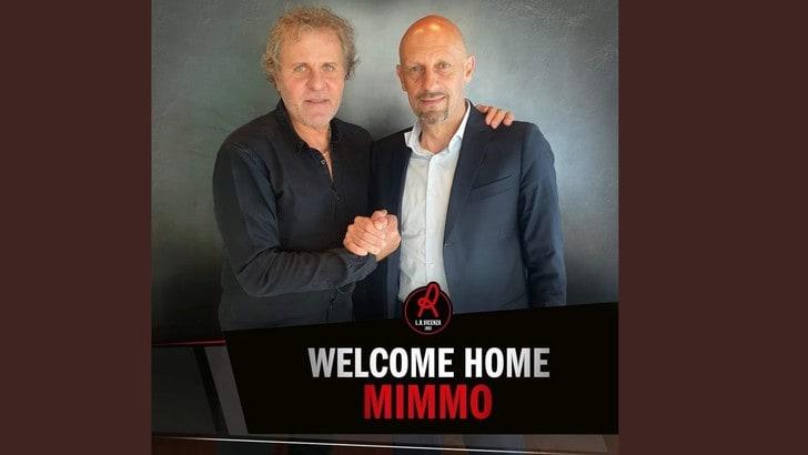 Mimmo Di Carlo è il nuovo allenatore del Vicenza