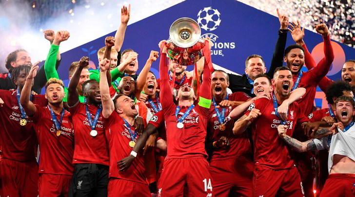 Albo d'oro Champions: per il Liverpool è il sesto trionfo