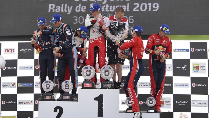 Rally del Portogallo, vittoria finale di Tanak