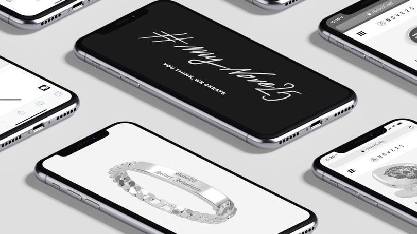 Disegna il tuo gioiello custom al 100% con MyNove25