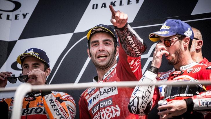 MotoGp: balzo Petrucci nelle quote, ha superato Rossi