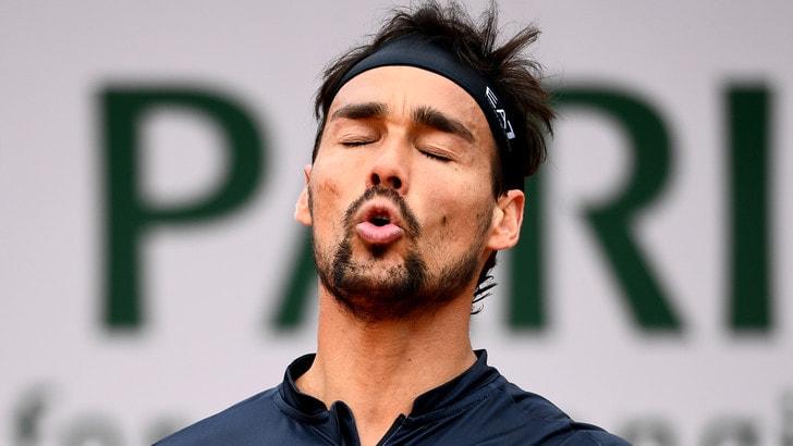 Fognini ko con Zverev: è fuori dal Roland Garros
