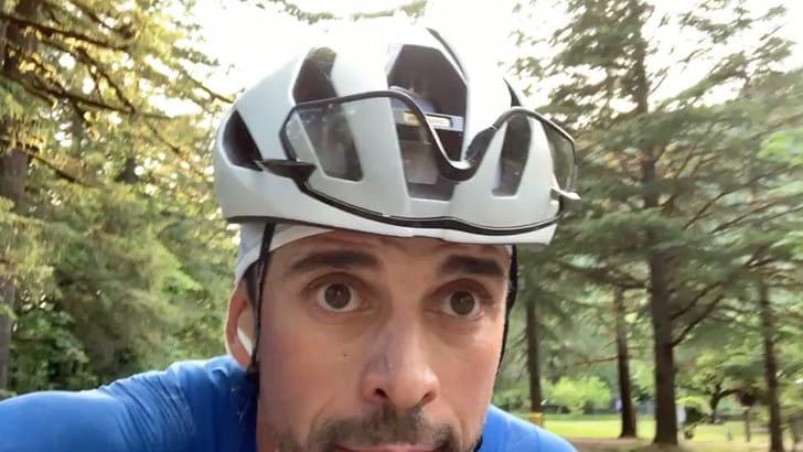Di Felice dopo la prima tappa è in testa alla TransAmerica in bici. Coast to Coast