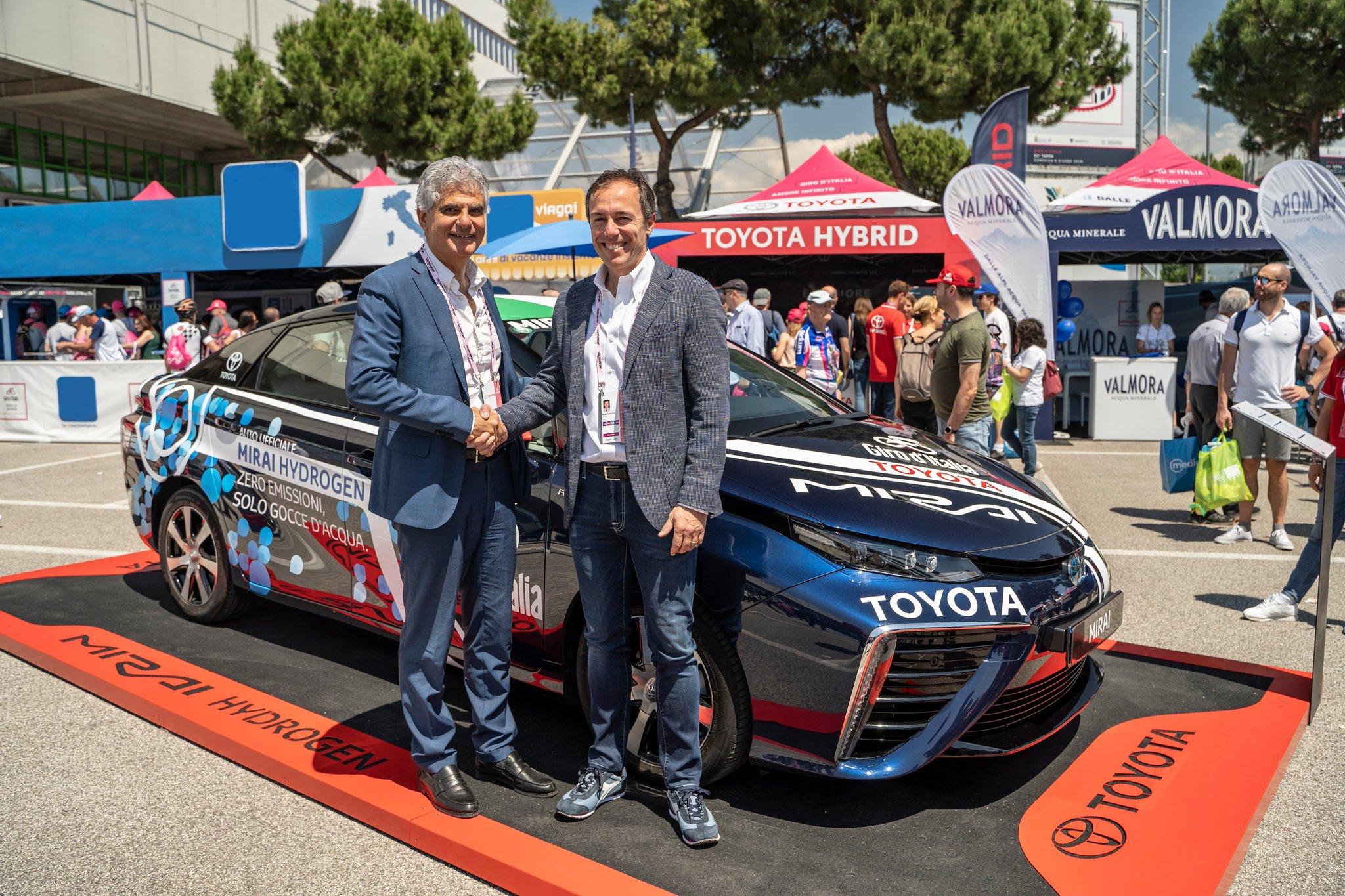 Eni e Toyota, un progetto per l'idrogeno